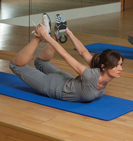 Pilates Fitness Kurse in der Sachsen-Therme Leipzig