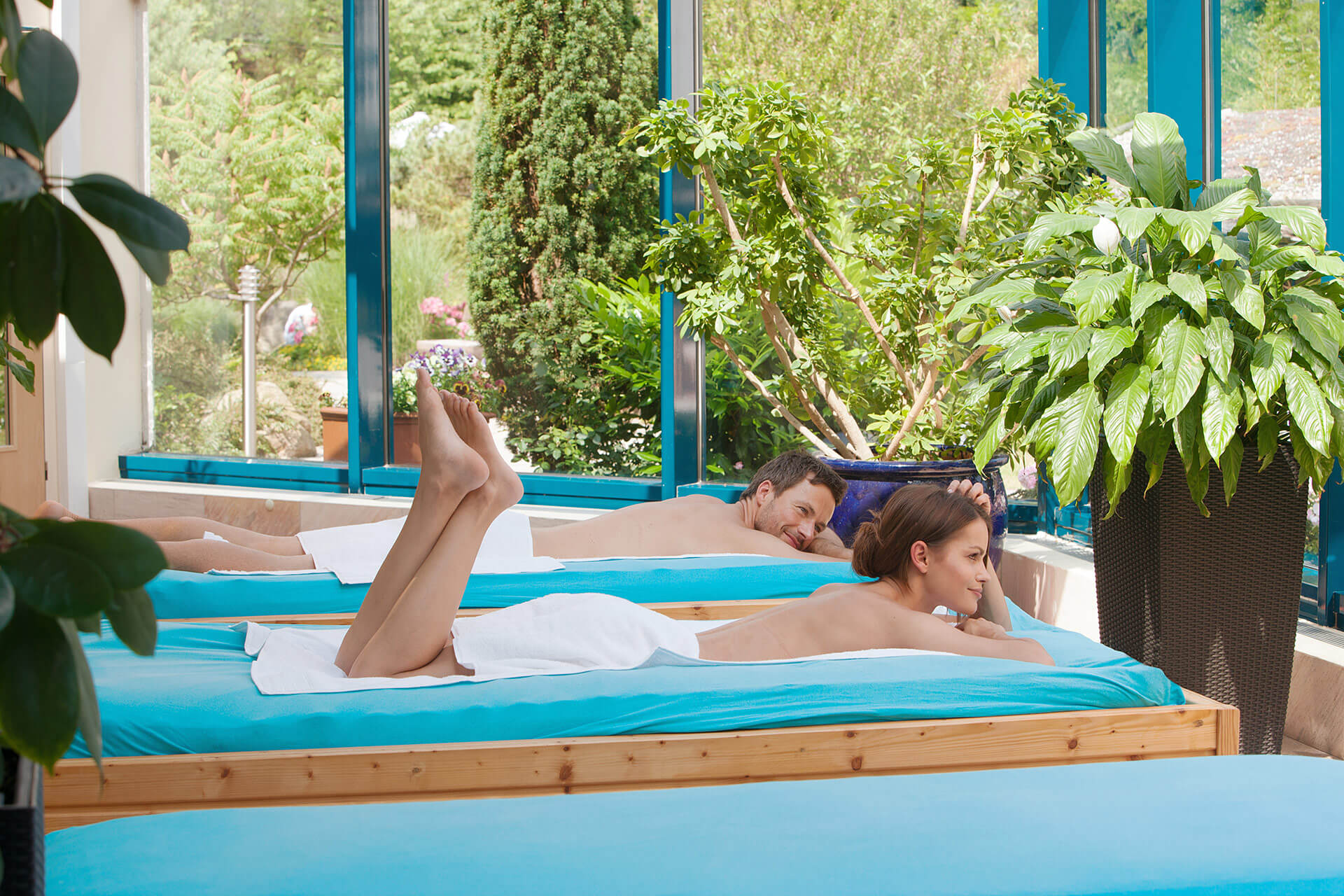 Wellness- & Saunaparadies in der Sachsen-Therme